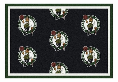 "Boston Celtics 5'4"" x 7'8"" Premium Pattern Rug"