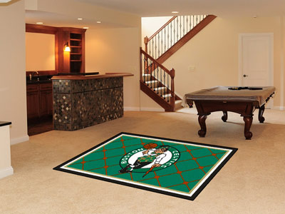Boston Celtics 5 Foot x 8 Foot Rug