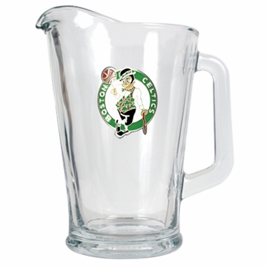 Boston Celtics 60 oz Glass Pitcher