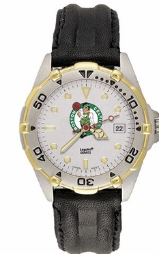 Boston Celtics All Star Mens (Leather Band) Watch