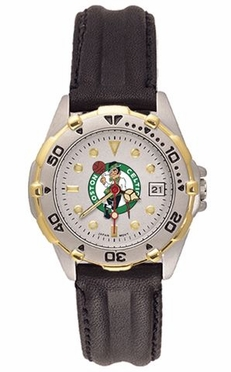 Boston Celtics All Star Womens (Leather Band) Watch