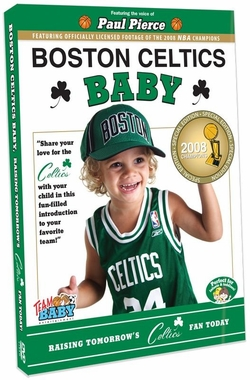 Boston Celtics Baby DVD