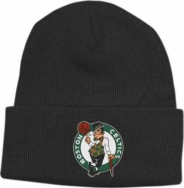 Boston Celtics Basic Logo Cuffed Knit Hat