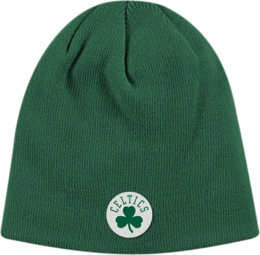 Boston Celtics Basic Logo Uncuffed Knit Cap