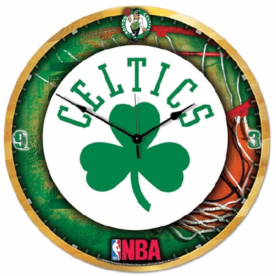 Boston Celtics Big 18 Inch Hi Definition Clock