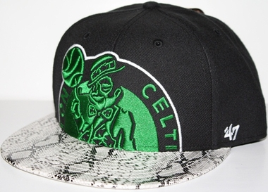 Boston Celtics Black Mamba Snap Back Hat
