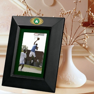 Boston Celtics BLACK Portrait Picture Frame