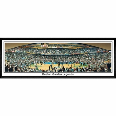 Boston Celtics Boston Garden Legends Framed Panoramic Print