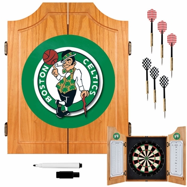 Boston Celtics Complete Dart Cabinet