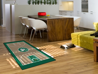 Boston Celtics Court Runner Rug