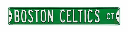 Boston Celtics Ct Street Sign
