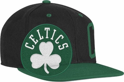 Boston Celtics Double Graphic Wool Blend Snap Back Hat