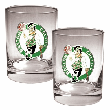 Boston Celtics Double Rocks Set