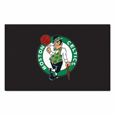 Boston Celtics Economy 5 Foot x 8 Foot Mat