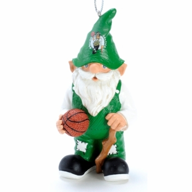 Boston Celtics Gnome Christmas Ornament