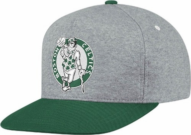 Boston Celtics Heather Pinch Panel Snap Back Hat