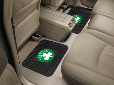 Boston Celtics SET OF 2 Heavy Duty Vinyl Rear Car Mats
