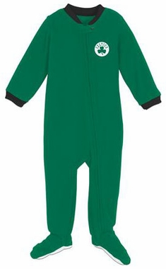 Boston Celtics Infant Footed Sleeper Pajamas