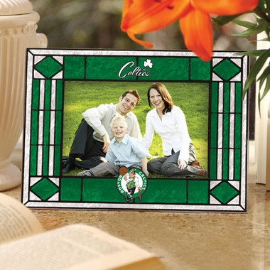 Boston Celtics Landscape Art Glass Picture Frame