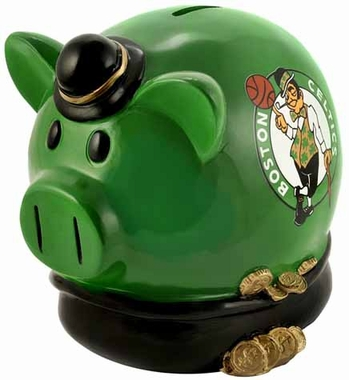 Boston Celtics Large Thematic Piggy Bank