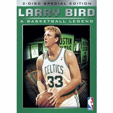 Boston Celtics Larry Bird, A Basketball Legend DVD
