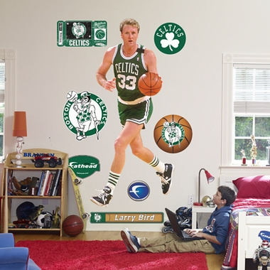 Boston Celtics Larry Bird Fathead Wall Graphic