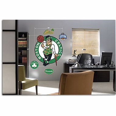 Boston Celtics Logo Fathead Wall Graphic