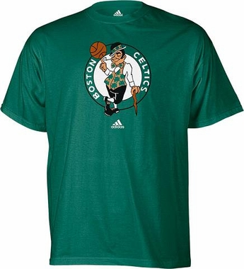 Boston Celtics Logo Premiere T-Shirt - Large