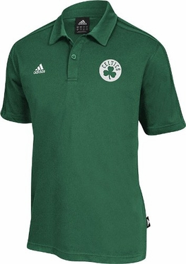 Boston Celtics NBA On-Court Coaches Polo Shirt