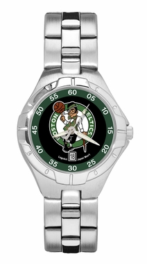Boston Celtics Pro II Women's Stainless Steel Watch
