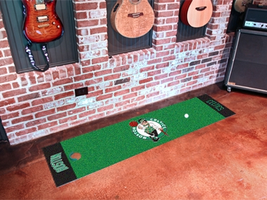 Boston Celtics Putting Green Mat