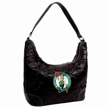 Boston Celtics Quilted Hobo Purse