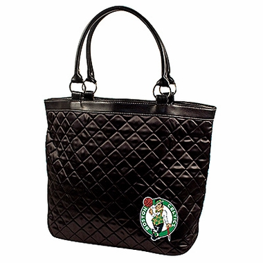 Boston Celtics Quilted Tote