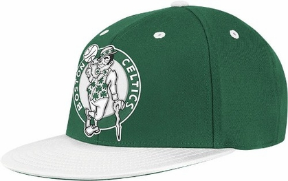 Boston Celtics Retro Flat Bill Flex Hat