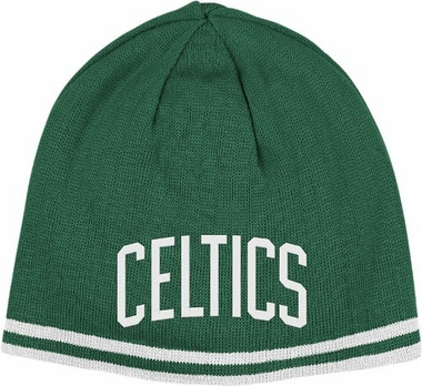 Boston Celtics Reversible Cuffless Knit Hat