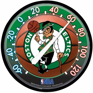 Boston Celtics Round Wall Thermometer