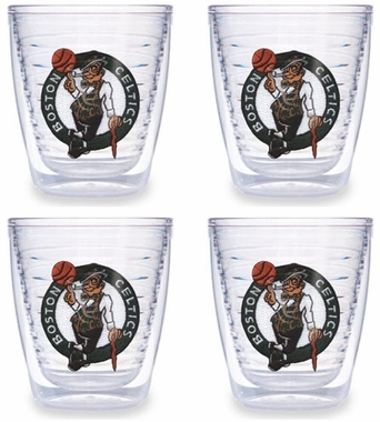 Boston Celtics Set of FOUR 12 oz. Tervis Tumblers