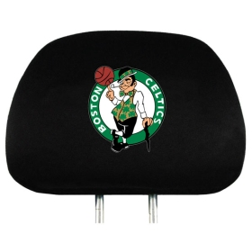Boston Celtics Set of Headrest Covers