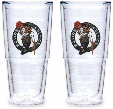 Boston Celtics Set of TWO 24 oz. Tervis Tumblers