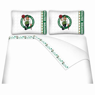 Boston Celtics Sheet Set