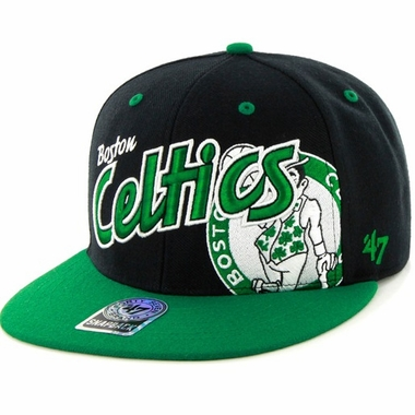 Boston Celtics Underglow MVP Snap Back Hat