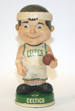 Boston Celtics Vintage Retro Bobble Head