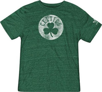 Boston Celtics Vintage Soft Sanded T-Shirt - Medium