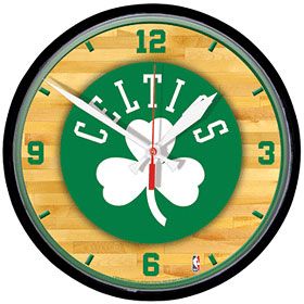 Boston Celtics Wall Clock