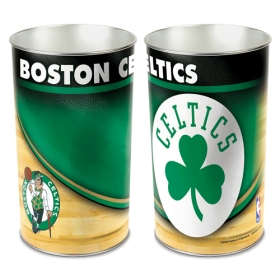 "Boston Celtics 15"" Waste Basket"