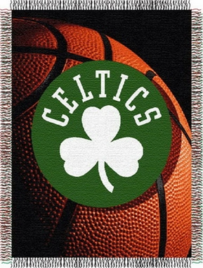 Boston Celtics Woven Tapestry Blanket