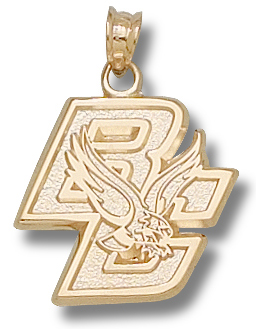 Boston College 10K Gold Pendant