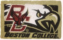 Boston College 18x30 Bleached Welcome Mat