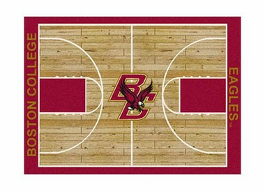 "Boston College 3'10"" x 5'4"" Premium Court Rug"