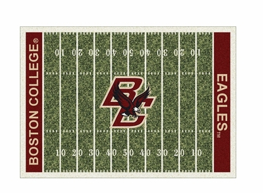 "Boston College 3'10"" x 5'4"" Premium Field Rug"